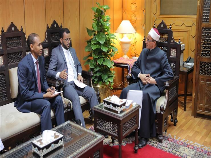 وزير الشؤون الإسلامية بموريتانيا يزور مشيخة الأزهر