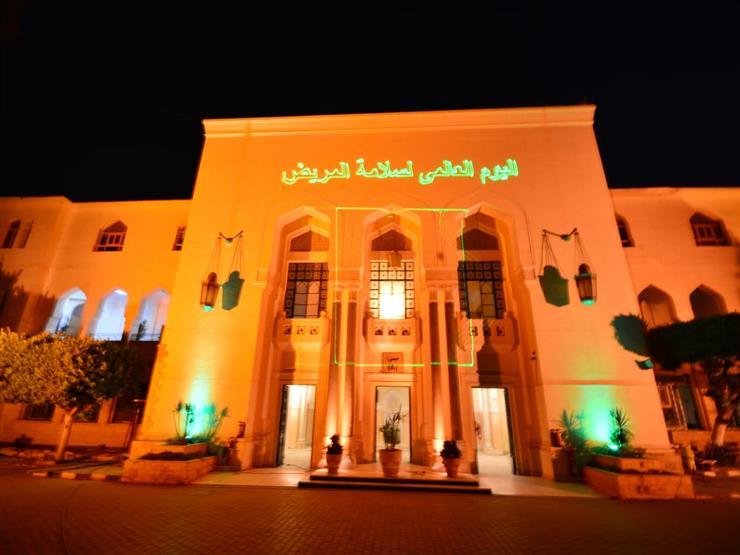 """اليوم.. جامعة عين شمس تضيء باللون البرتقالي احتفالا بـ""""سلامة المريض"""""""
