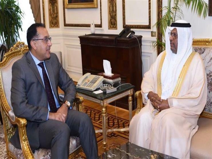 مدبولي يلتقي سفير الإمارات بالقاهرة