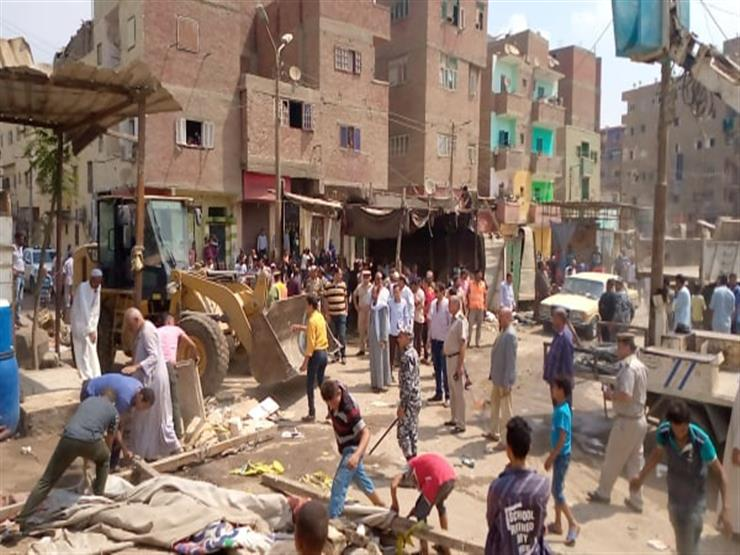 محافظ المنيا: إزالة 1420 حالة مخالفة على الطرق في مغاغة