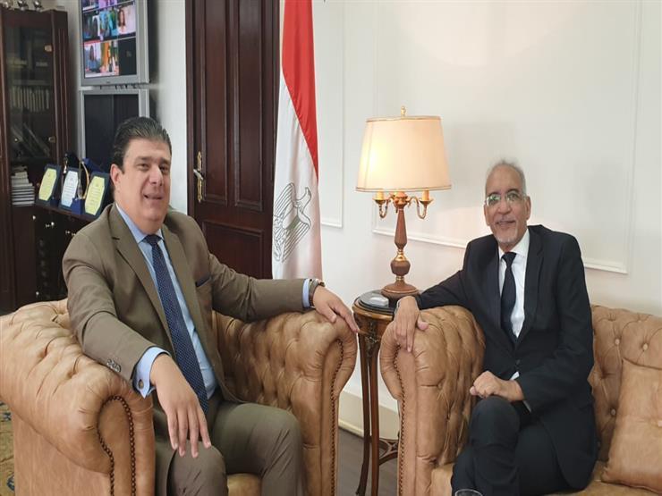 """""""زين"""" يلتقي رئيس اتحاد إذاعات الدول الإسلامية لتعزيز التعاون"""