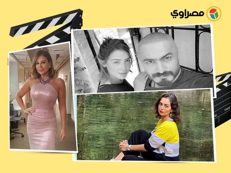 تامر حسني بصحبة زوجته وكارول سماحة بإطلالة أنيقة.. 10 لقطات لنجوم الفن خلال 24 ساعة