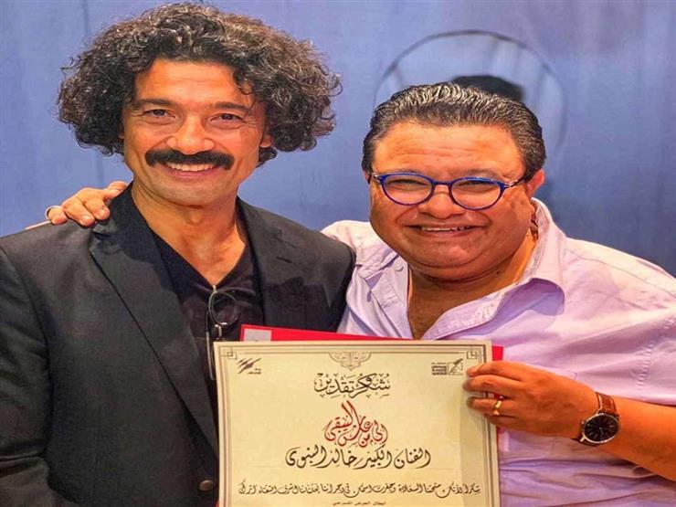 """فيديو وصور  خالد النبوي يشيد بعرض """"سينما مصر"""""""