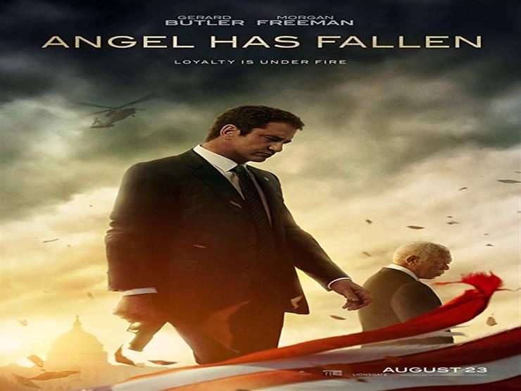 """""""سقوط ملاك"""" يحتفظ بالصدارة في إيرادات السينما الأمريكية"""
