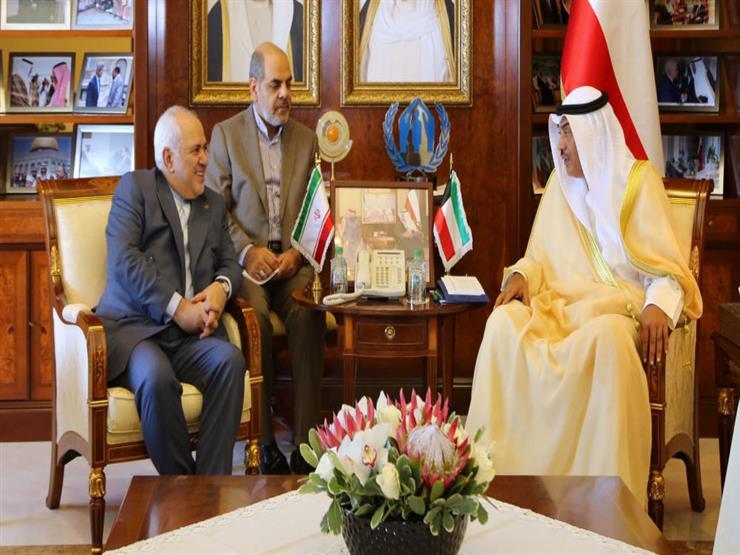 وزيرا الخارجية الكويتي والإيراني يبحثان تهدئة الأوضاع في المنطقة