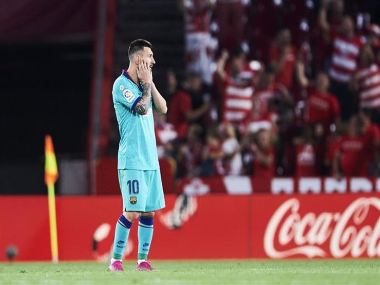 """""""الكارثة"""".. كيف تناولت الصحف الإسبانية هزيمة برشلونة أمام غرناطة بالليجا؟"""