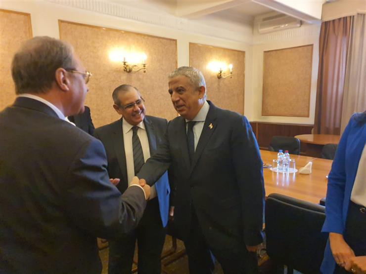"""وفد """"خارجية النواب"""" يبحث مع نائب وزير الخارجية الروسي تدعيم العلاقات المصرية الروسية"""