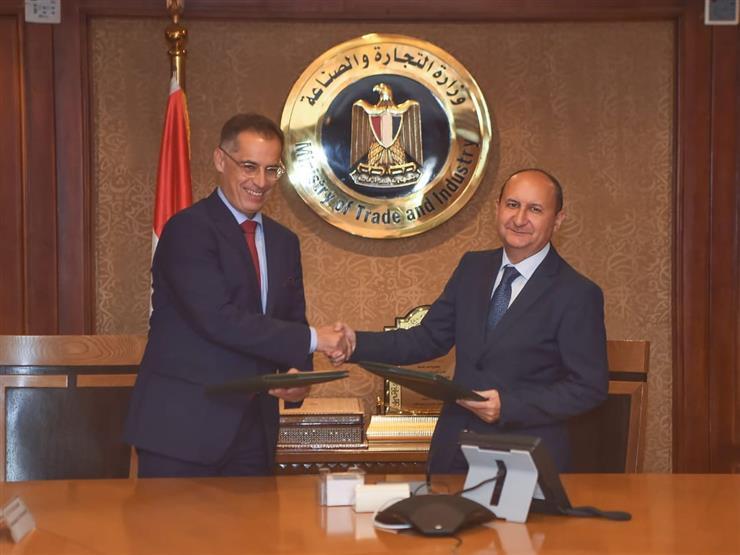 """مصر وسويسرا توقعان اتفاقا لدعم برنامج """"جيتكس"""" العالمي للمنسوجات والملابس"""