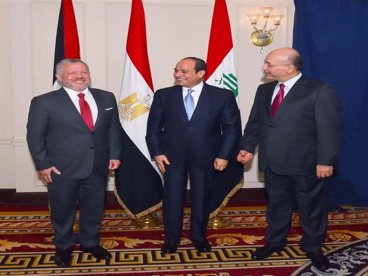 ناقشت أزمات المنطقة.. تفاصيل القمة المصرية الأردنية العراقية