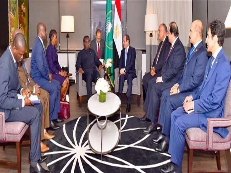 السيسي يلتقي رئيس سيراليون في نيويورك