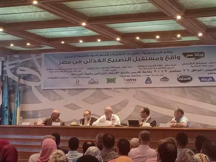 رئيس هيئة سلامة الغذاء: اقتصاد مصر لن يتقدم إلا بالصناعات الصغيرة