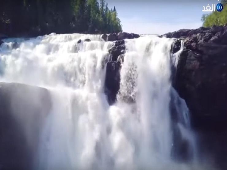 مقصد السياح منذ أكثر من 150 عامًا.. رحلة إلى شلالات تان فورسين في السويد