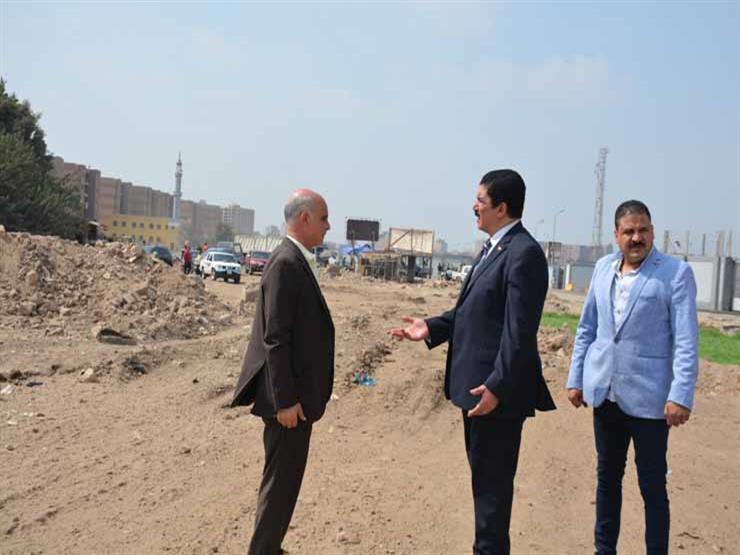 محافظ القليوبية يتفقد موقع الطريق البديل لشركات البترول في     مصراوى