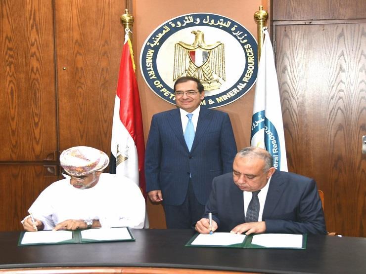 مصر وعمان توقعان مذكرة تفاهم في مجال صناعة وتخزين البترول والغاز