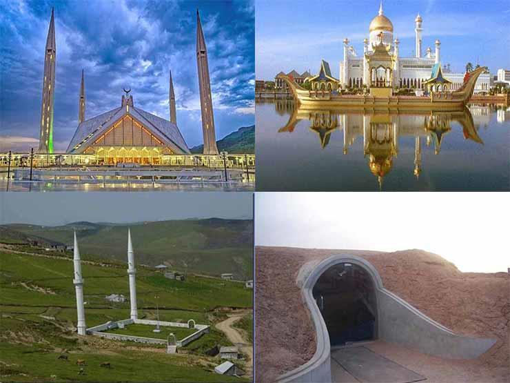 بالصور| تعرف على أغرب 6 مساجد حول العالم.. منها مسجد من الذهب