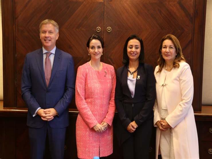 مايا مرسي تلتقي سفيرة المرأة والأمن بكندا