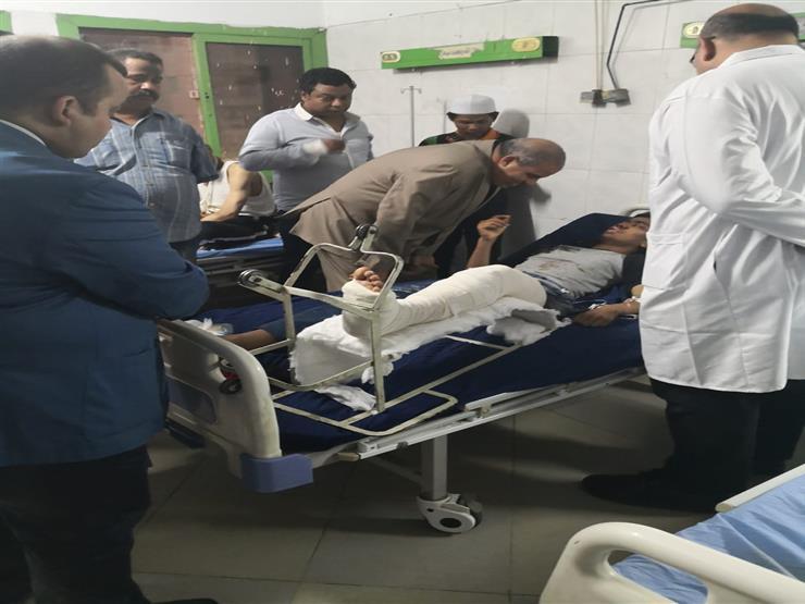 رئيس جامعة الأزهر يطمئن على طالب ماليزي أصيب في حادث سير   مصراوى