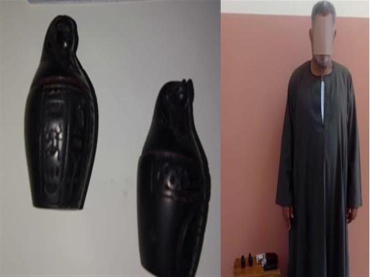 """""""أقلام على هيئة تماثيل فرعونية"""".. إحباط تهريب 55 طردًا محظور استيرادها في بورسعيد"""