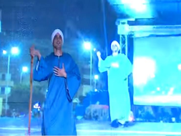شاهد.. عروض لفرق مصرية وفلسطينية بمهرجان الإسماعيلية للفنون الشعبية