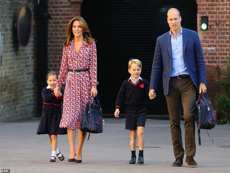 تعرف على المدرسة التي التحقت بها الأميرة شارلوت