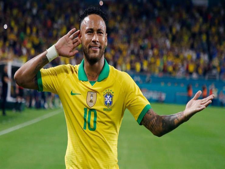نيمار يسجل ويصنع أمام كولومبيا في ظهوره الأول بعد الإصابة