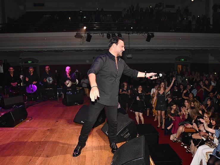 """عاصي الحلاني يغني في قبرص:""""ليلة لا تُنسى"""""""