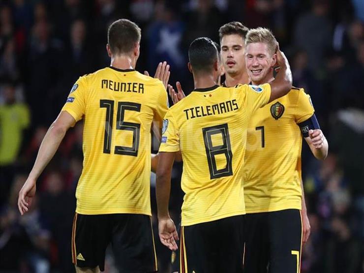 بلجيكا تحصد العلامة الكاملة بعد الفوز على اسكتلندا في تصفيات يورو 2020