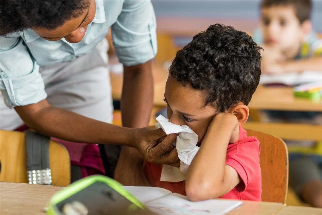 لحماية طفلك في المدرسة.. 5 طرق للوقاية من الأمراض المعدية