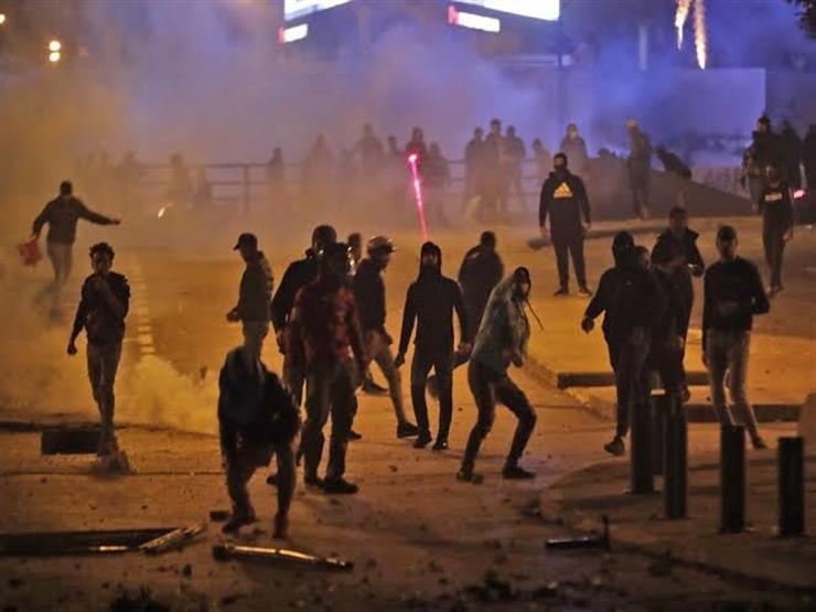 أسبوع الغضب.. قطع طرقات واختناقات واعتقالات وسط بيروت