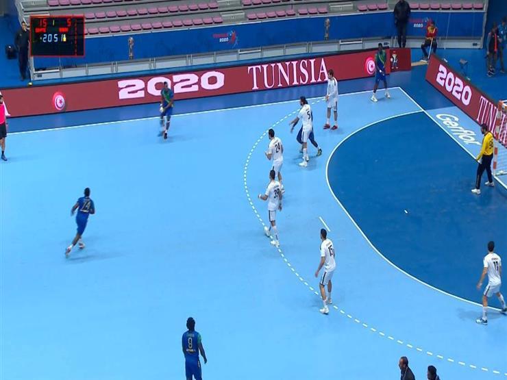 مصر تكتسح الجابون 36-17 وتقترب بشدة من نصف نهائي بطولة أفريقيا لليد