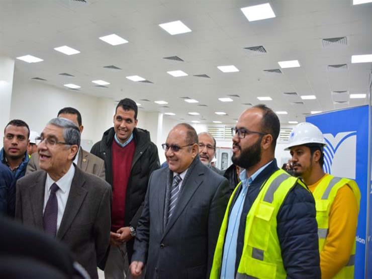 وزير الكهرباء يتفقد محطة محولات العاصمة الإدارية SS2