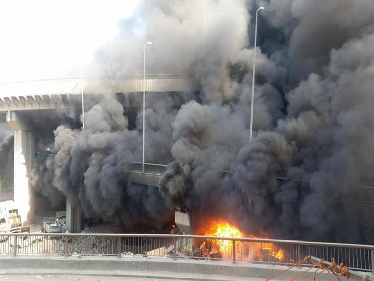 اندلاع حريق بمبنى القنصلية الروسية في عدن