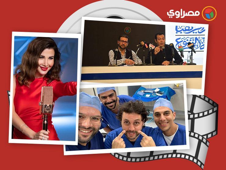 النشرة الفنية  تطورات حالة خالد النبوي الصحية وهشام ماجد في غرفة العمليات