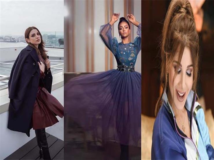 """نشرة الموضة  نانسي عجرم تتألق بالأزرق.. وكيم كارداشيان بـ""""لوك"""" جريء"""