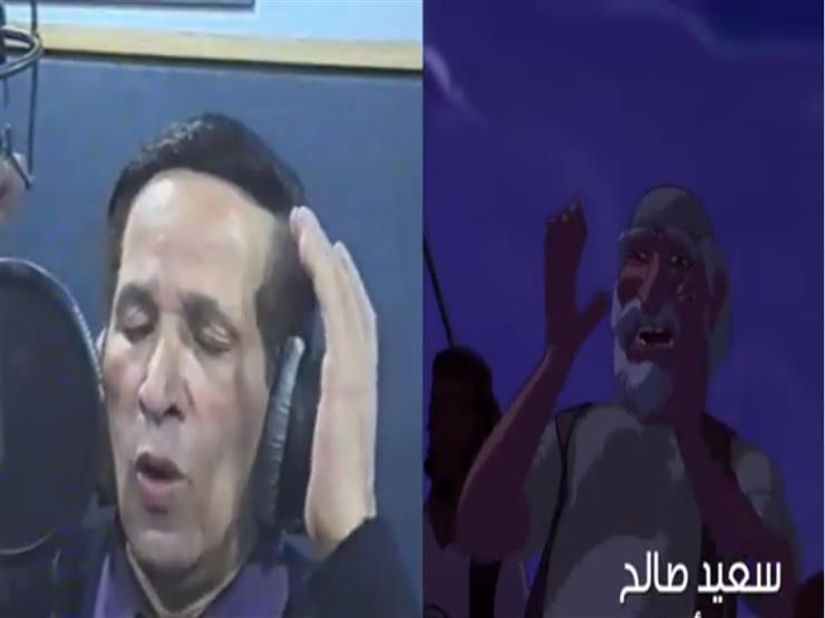 """فيديو  سعيد صالح في كواليس فيلم""""الفارس والأميرة"""""""