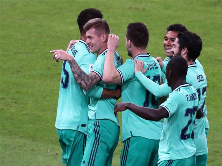 الريال ينفرد بقمة الدوري الإسباني بالفوز على جار برشلونة