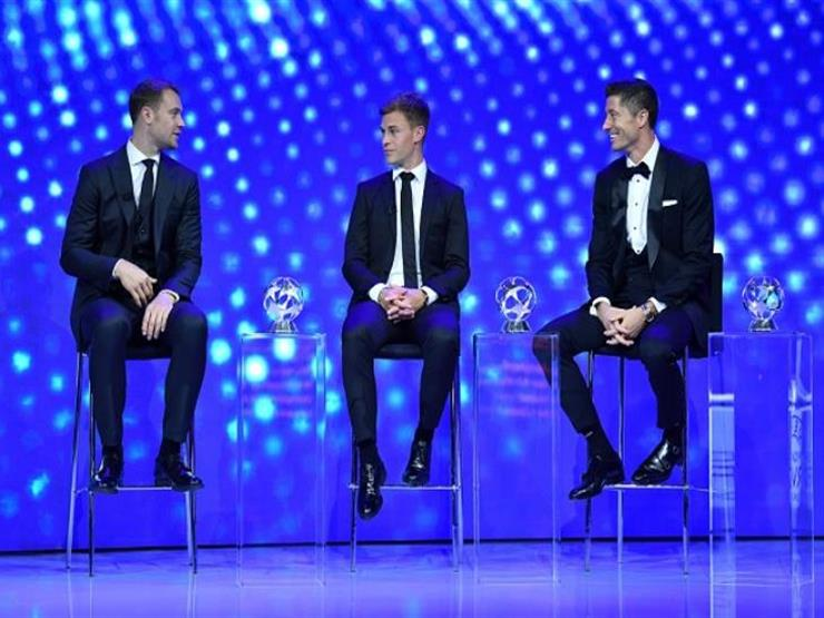 لاعبو بايرن يكتسحون الجوائز الفردية.. وليفاندوفسكي أفضل لاعب بأوروبا