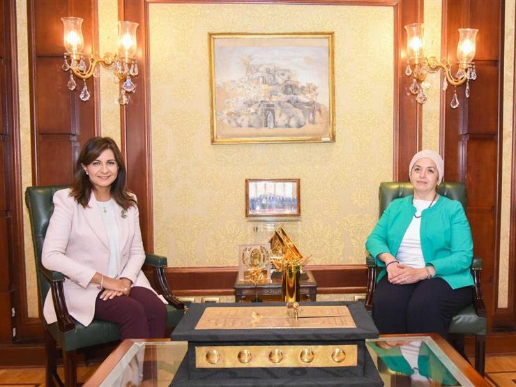 وصلت إلى نجاحات ومراكز مرموقة.. وزيرة الهجرة تلتقي إحدى النابغات المصريات بالخارج