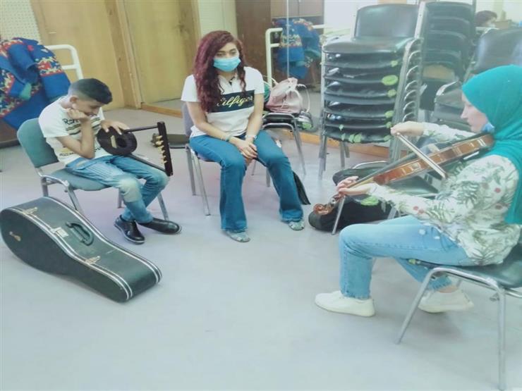 """""""ثنائي العود"""" غسان ودينا يشاركان ذوي القدرات الخاصة في حفل افتتاح """"أولادنا"""""""