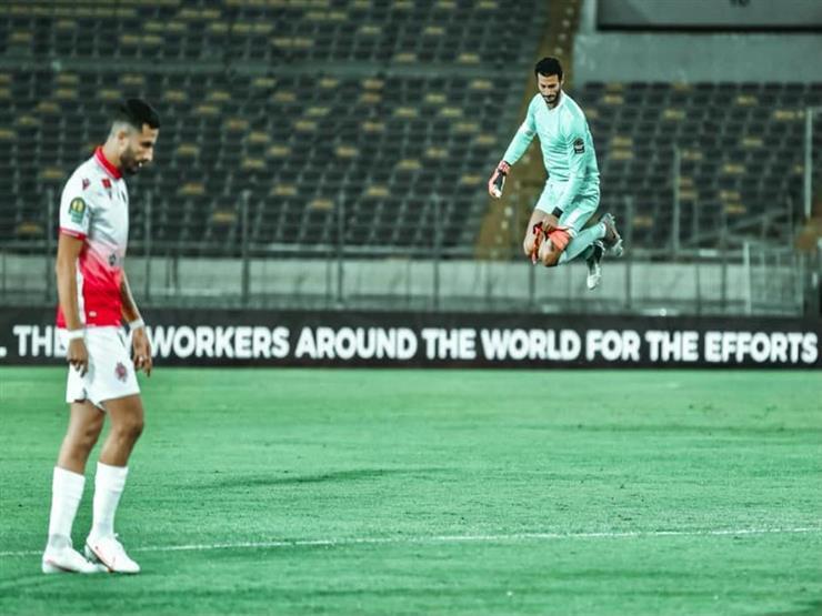 """رسميا.. الشناوي يحصد جائزة """"الأفضل"""" في مباراة الوداد والأهلي"""