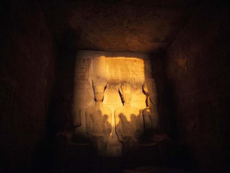 """""""البحوث الفلكية"""" ينظم احتفالية لظاهرة تعامد آشعة الشمس على معبد أبوسمبل الخميس المقبل"""