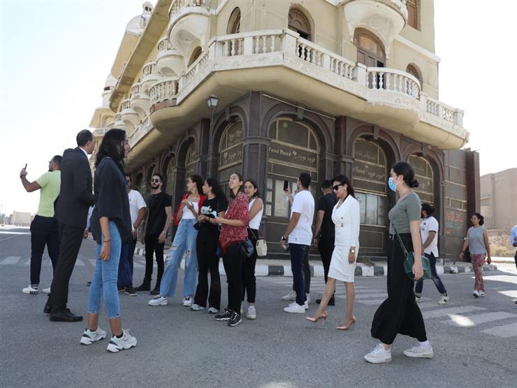 وفد شباب الدارسين في الخارج يزور مدينة الإنتاج الإعلامي (صور)