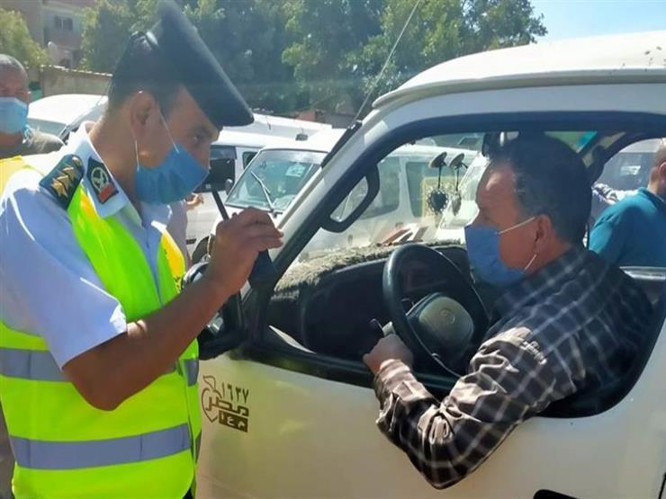 الداخلية: ضبط 1291 سائق نقل جماعي لعدم الالتزام بارتداء الكمامات