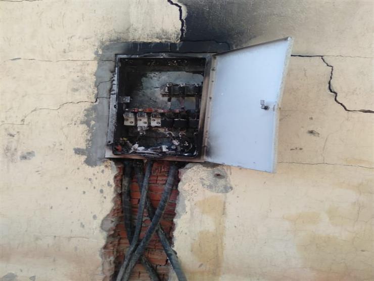 المعاينة: ماس كهربائي وراء حريق مخزن سجاد وألعاب أطفال في أبو النمرس