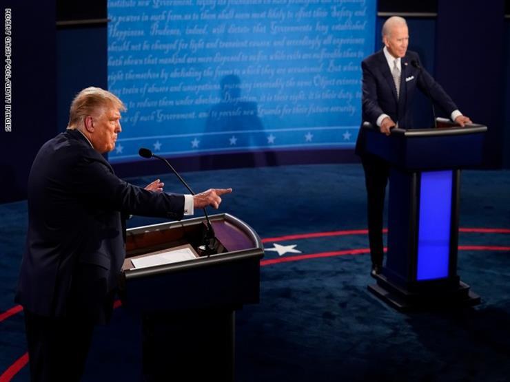 انطلاق المناظرة الأخيرة بسباق الانتخابات الأمريكية بين ترامب وبايدن