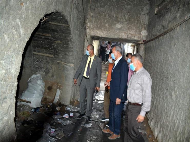 السيطرة على حريق داخل المدفن الصحي للقمامة في العبور
