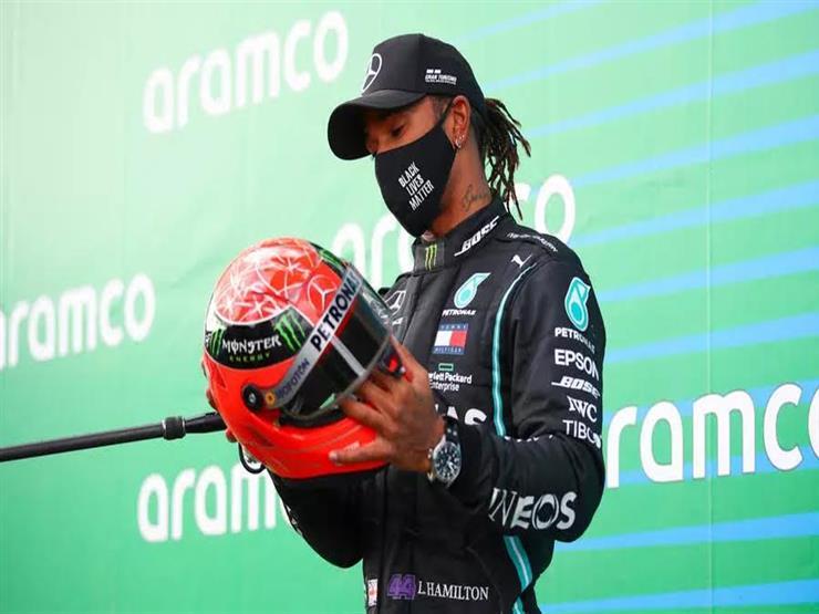 صورة هاميلتون يتوج بلقب سباق فورمولا البرتغالي ويحقق رقما قياسيًا