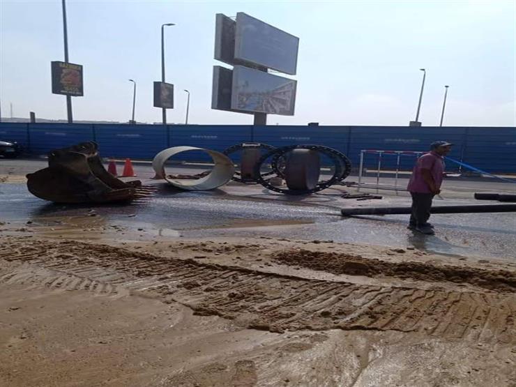 لا يؤثر على مياه الشرب.. جهاز القاهرة الجديدة يعلن عن كسر في خط الصرف بالتسعين الجنوبي