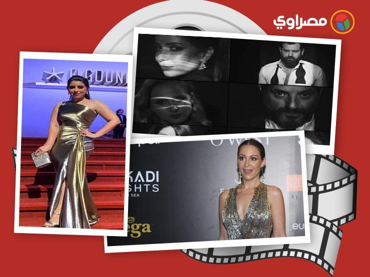"""النشرة الفنية  منة شلبي تقبل يد يسرا ورقص أيتن عامر وأزمة مسلسل """"نمرة 2"""""""