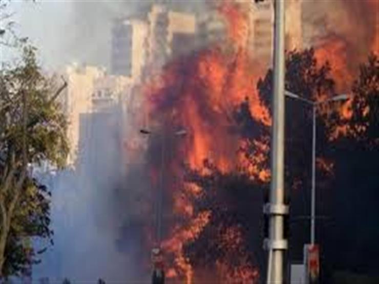 أنقرة: إخلاء عشرات المنازل جراء حريق ضخم جنوبي البلاد
